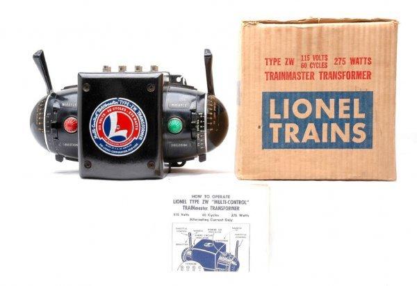 16: Lionel Postwar ZW 275-Watt Transformer LN OB