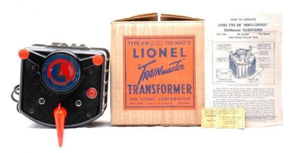 17: Lionel Type KW 190-Watt Transformer LN OB
