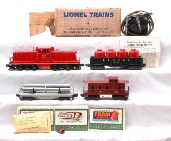 18: Lionel Freight Set no. 700 627 6121 6112 6017 OB