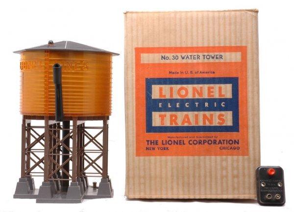 23: Lionel Postwar 30 Water Tank LIKE NEW Boxed
