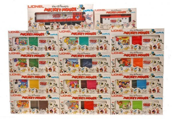 24: Lionel Disney Mickey Mouse Express Set LN OB
