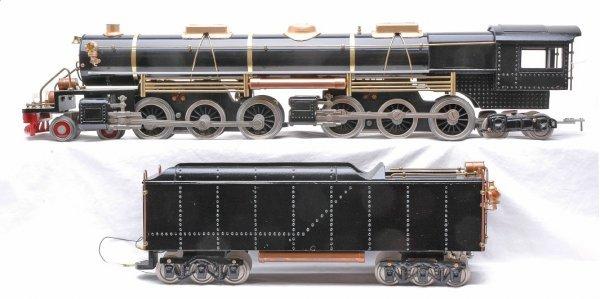512: Standard Gauge Steam 4-6-6-4 Loco w/Tender LN