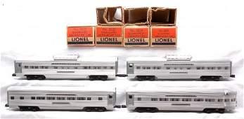 577: Lionel Aluminum Pass 2534 2532 2532 2531 LN OBs