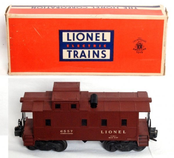 5: Lionel 6557 smoking caboose, OB