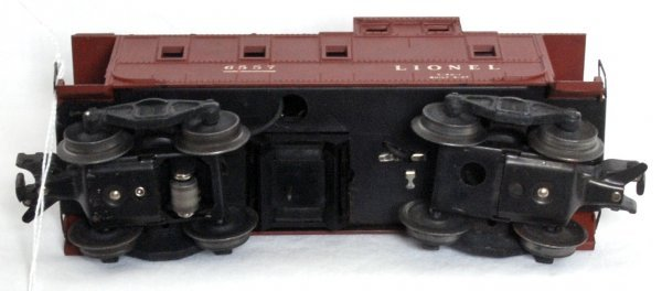5: Lionel 6557 smoking caboose, OB - 3