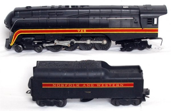 13: Lionel 746 Norfolk and Western class J loco