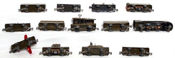 56: Marx Army Supply Train set in original box - 3