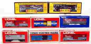 226 Mixed lot of O gauge freight cars in OB