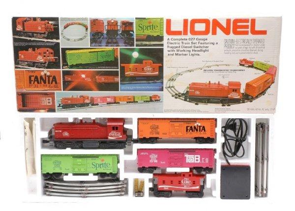 1: Lionel Coca Cola Special Set no. 1463 LN Boxed