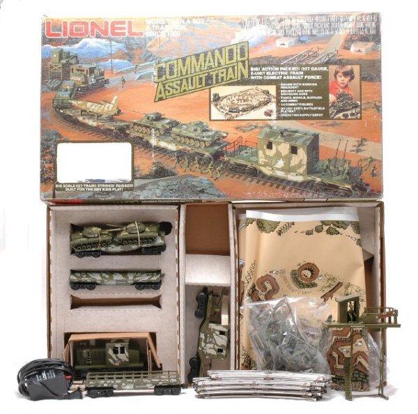 3: Lionel Commando Assault Train Set 1355 LN OB