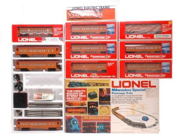 4: Lionel Milwaukee 1387 9501 9504 9505 9527 LN OBs