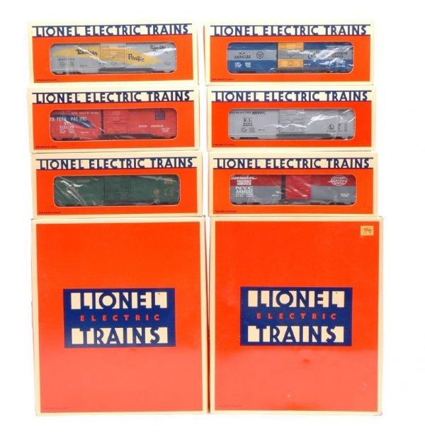 6: Lionel 19257 Edition 2 19266 Boxcar Edition 3 MIB