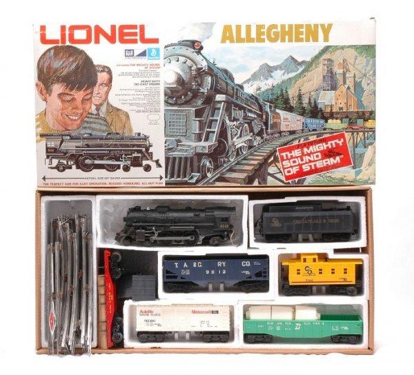 8: Lionel Autolite Allegheny Freight Set 1199 OB