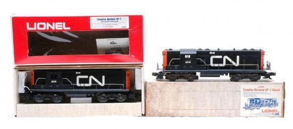 9: Lionel Canadian Nat. 8031 GP7 8258 Dummy LN OB