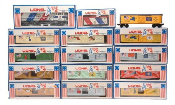 10: Lionel Spirit of 76 Freight Set LIKE NEW Boxed