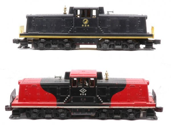 14: Lionel 625 LV 628 NP GE 44-Ton Switchers