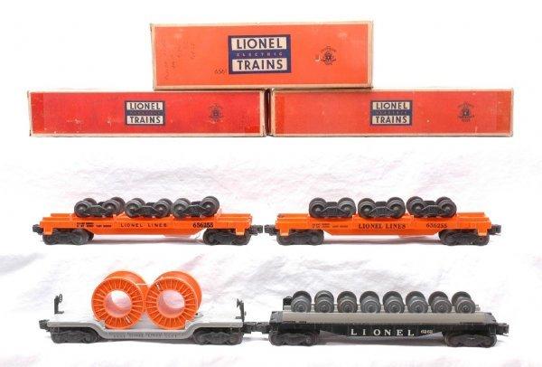 15: Lionel 2-6362-55 6362 6561 Flatcars w/Loads