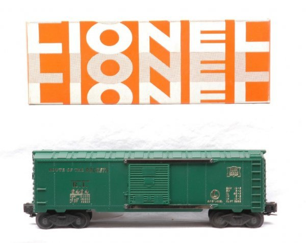 20: Lionel 6464-75 Rock Island Type IV Boxcar LN OB