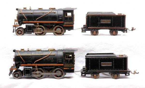 23: Lionel 257 257T & 258 257T w/Orange Stripes