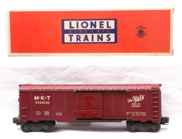 602: Lionel 6464-350 MKT. Type II Boxcar LN OB