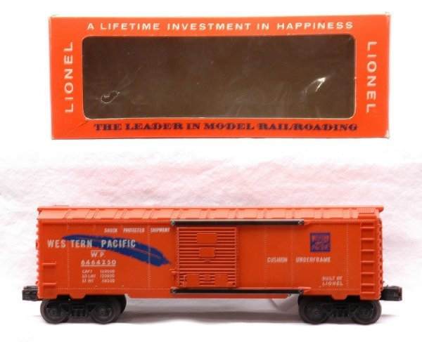 605: Lionel 6464-250 Western Pacific Boxcar MINT OB