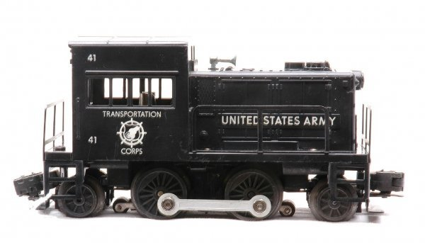 608: Lionel 41 United States Army Switcher LIKE NEW