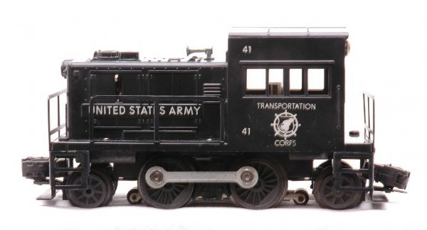 608: Lionel 41 United States Army Switcher LIKE NEW - 2