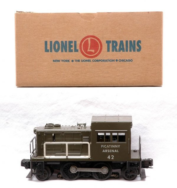 614: Lionel 42 Picatinny Arsenal Switcher LIKE NEW