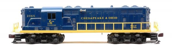 620: Lionel 2365 Chesapeake & Ohio GP-7 Diesel