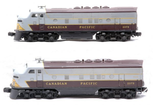 772: Lionel Canadian Pacific 2373 F3 AA Diesels