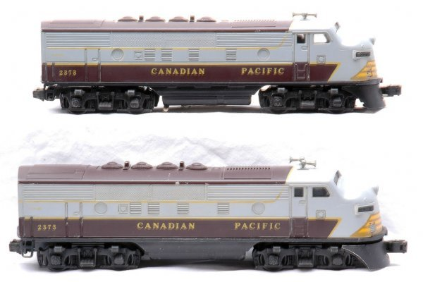 772: Lionel Canadian Pacific 2373 F3 AA Diesels - 2