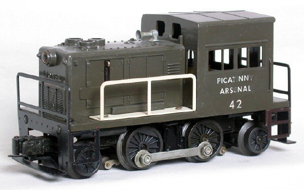 4: Lionel 42 Picatinny Arsenal switcher