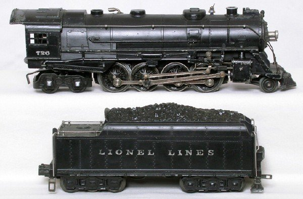 14: Lionel 726 Berkshire 2-8-4 and 2426W tender