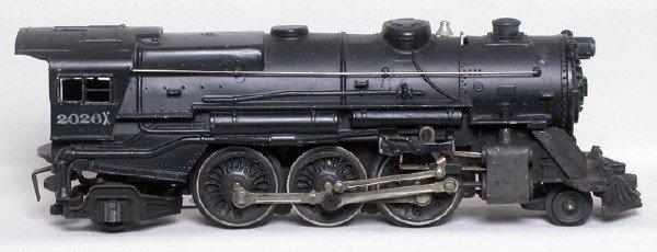 576: Very difficult Lionel 2026X steam locomotive