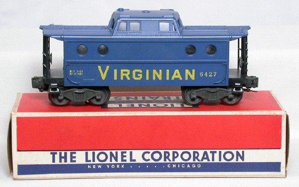 577: Lionel original 6427-60 Virginian caboose, OB
