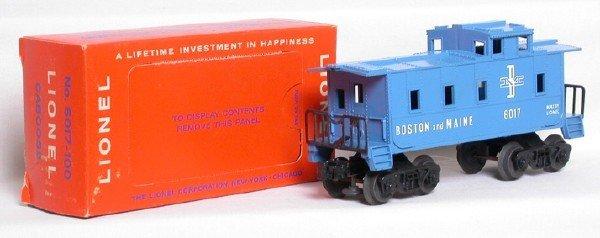 580: Lionel 6017-100 Boston and Maine in box