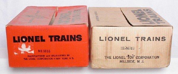 588: Lionel uncataloged se boxes 19703 and 9655