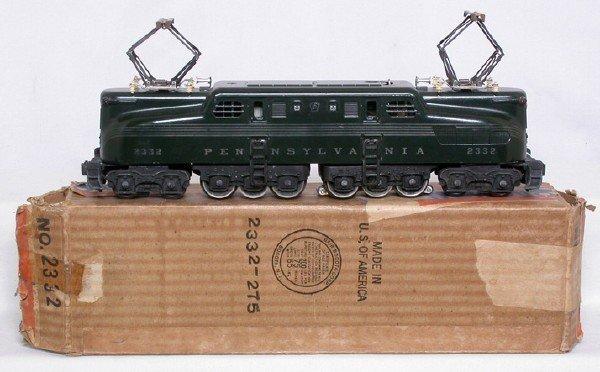 740: Lionel 2332 Pennsylvania GG1 silver stripe, OB