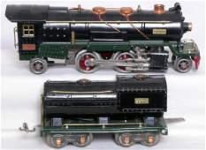 934: Lionel prewar 260E steam loco and tender