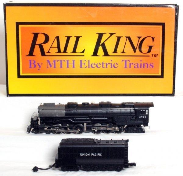 9: MTH Rail King RK-1108 black U.P. Challenger in OB