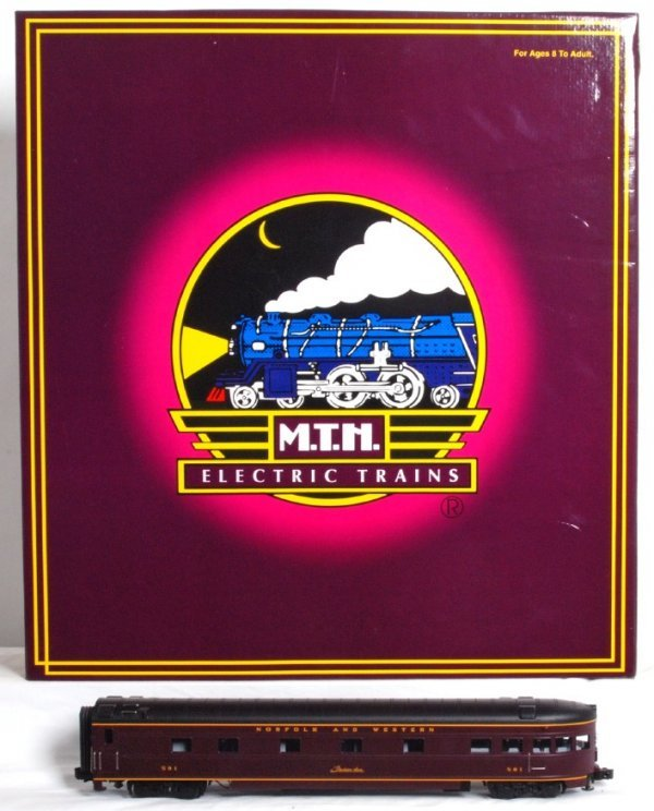 23: MTH No. 20-6514 N&W streamlined ribbed passengers