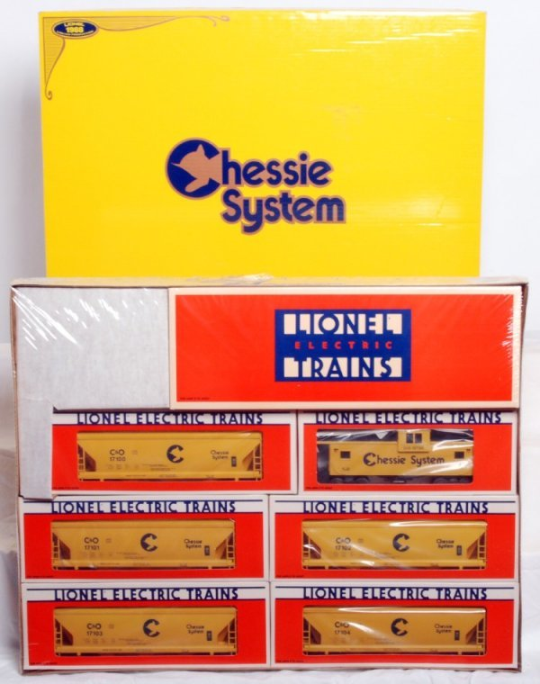 10: Factory sealed Lionel No. 11705 Chessie System
