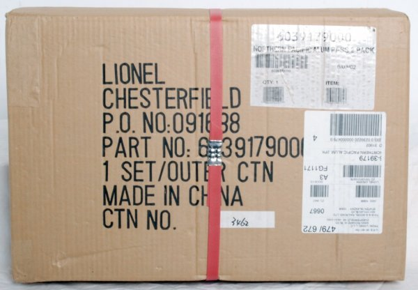 15: Factory sealed Lionel No. 39179 N.P. pass. 2-pack