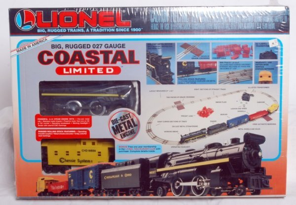 19: Factory sealed Lionel No. 11742 Coastal Limited