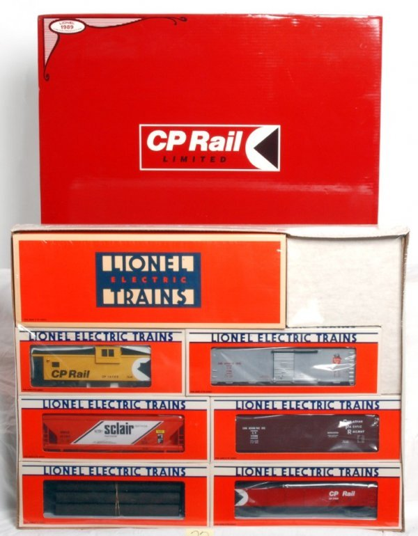 22: Factory sealed Lionel No. 11710 CP Rail Limited
