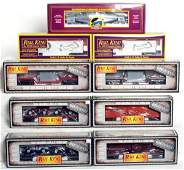 254 Nine MTH Rail King freight cars in original boxes