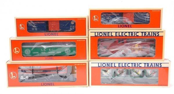 2: Lionel RR Club 19437 19940 19953 19966 29200 MIB