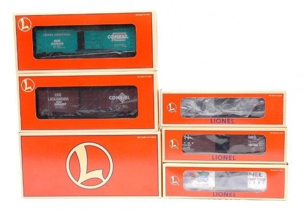 8: Lionel Boxcars 21756 Set 29202 29218 29225 MIB