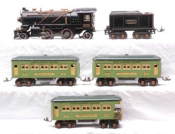 18: Lionel 262 Steam Loco w/262T Tender 607 607 608