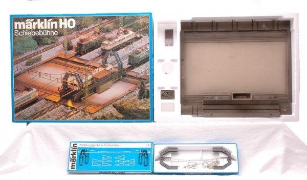 524: Marklin 7294 Transfer Table 7295 Catenary Kit OBs